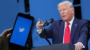Twitter amonestó un twit de Trump