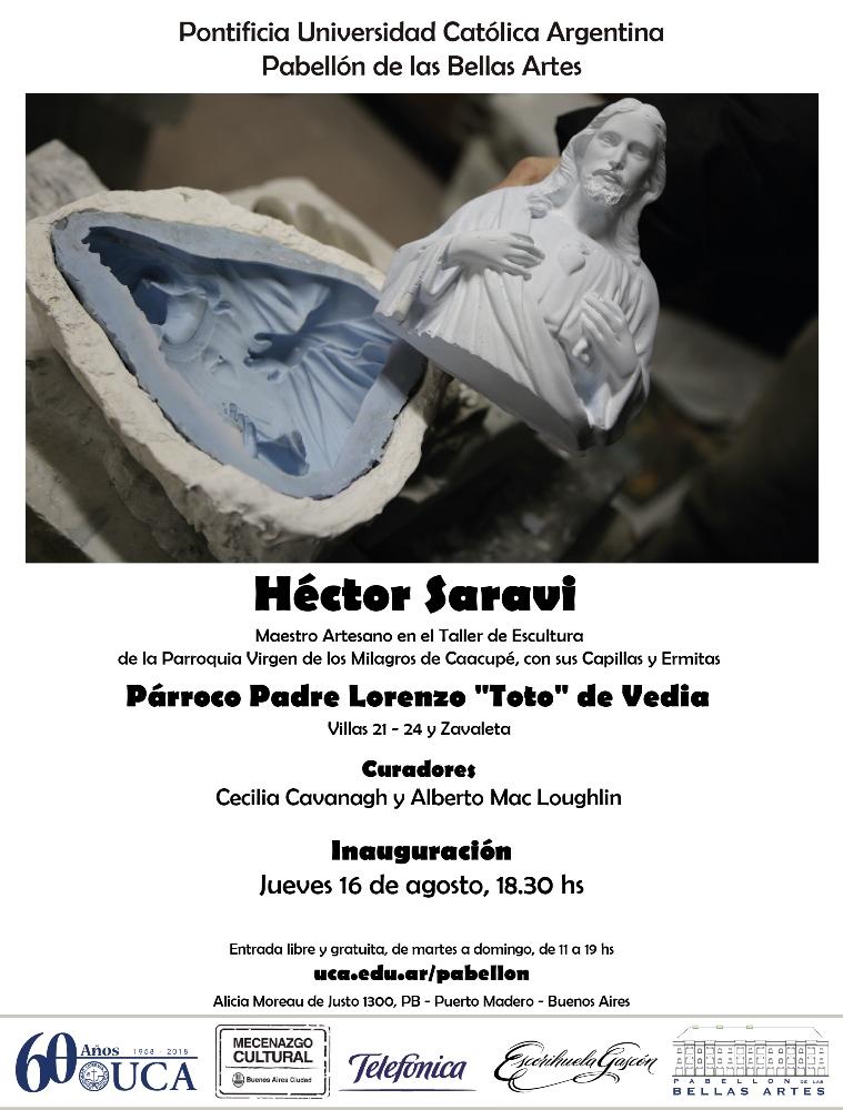 Muestra de Héctor Saraví en la UCA