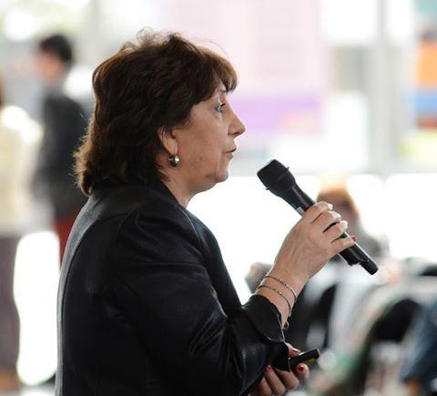 La Dra. Liliana Pantano dio la bienvenida a los nuevos alumnos