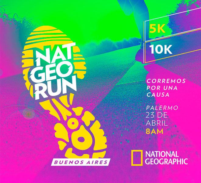 Nat Geo Run: cómo es la carrera ecofriendly