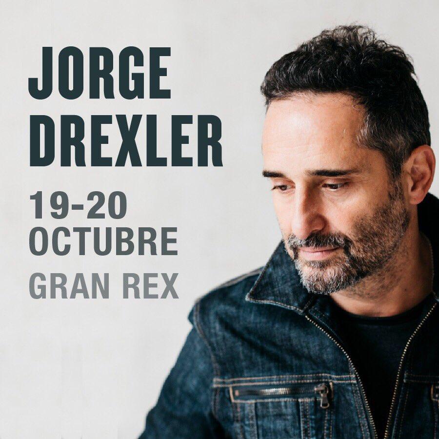 Jorge Drexler vendrá en octubre
