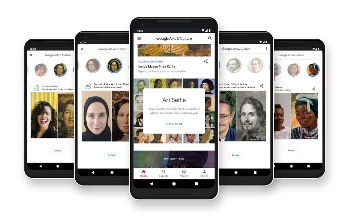 Una app encuentra gemelos en el arte