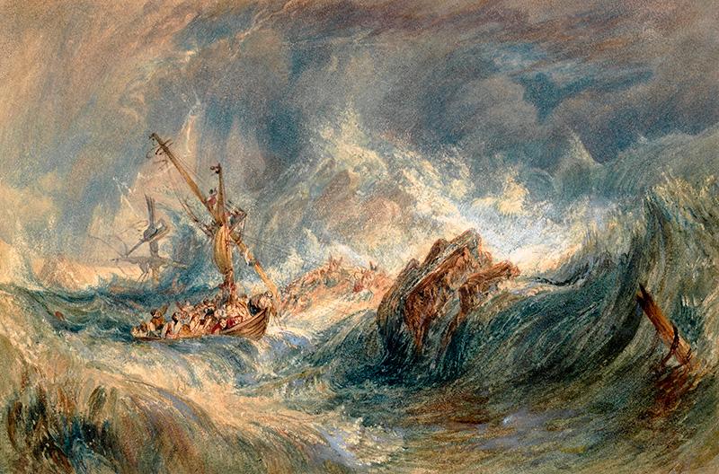 El Museo Nacional de Bellas Artes recibió las obras de William Turner