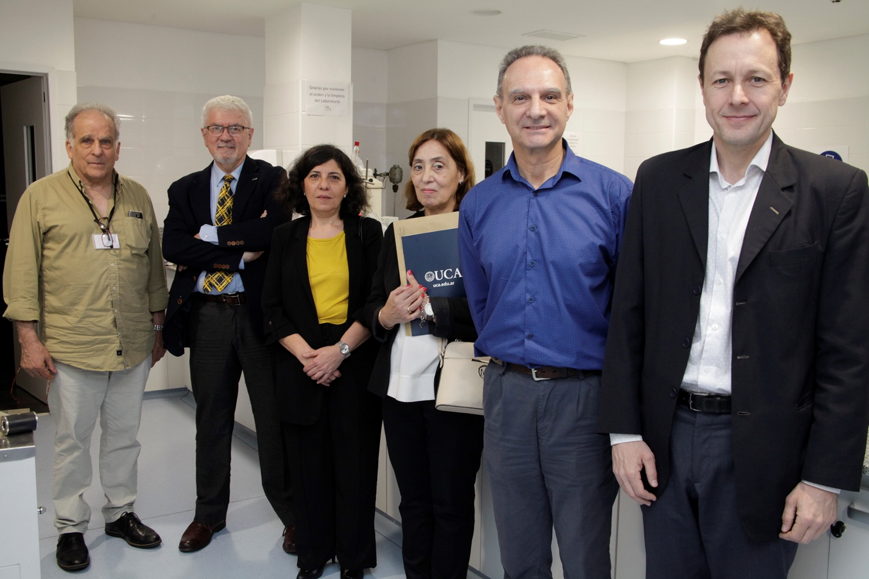 Visita del Gerente de Desarrollo Científico y Tecnológico del CONICET