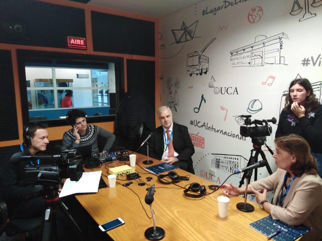 Radio abierta en UCA Rosario