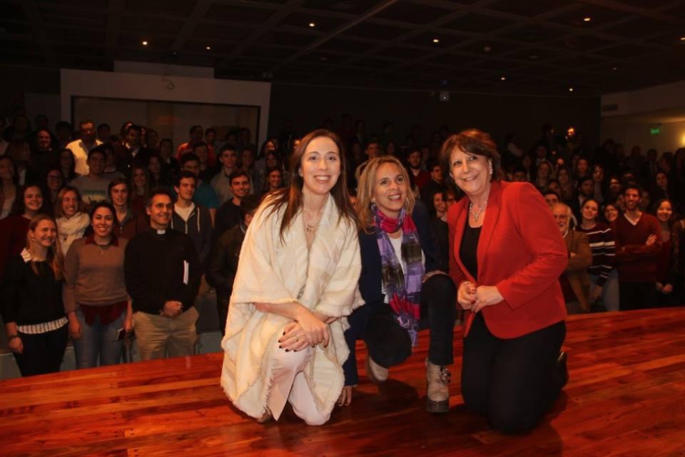 María Eugenia Vidal visitó la UCA