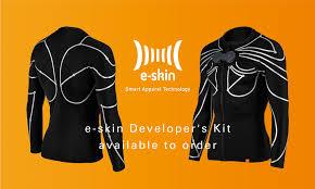 Crearon una camiseta con sensores que funciona como un joystick