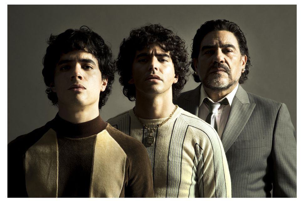 Se definieron los 3 actores que interpretaran a Diego Maradona en su serie