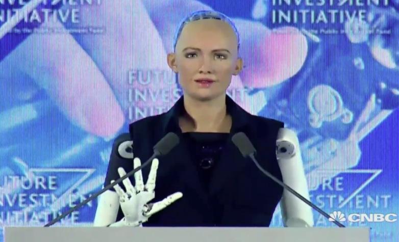 Sophia, el primer robot en obtener una ciudadanía