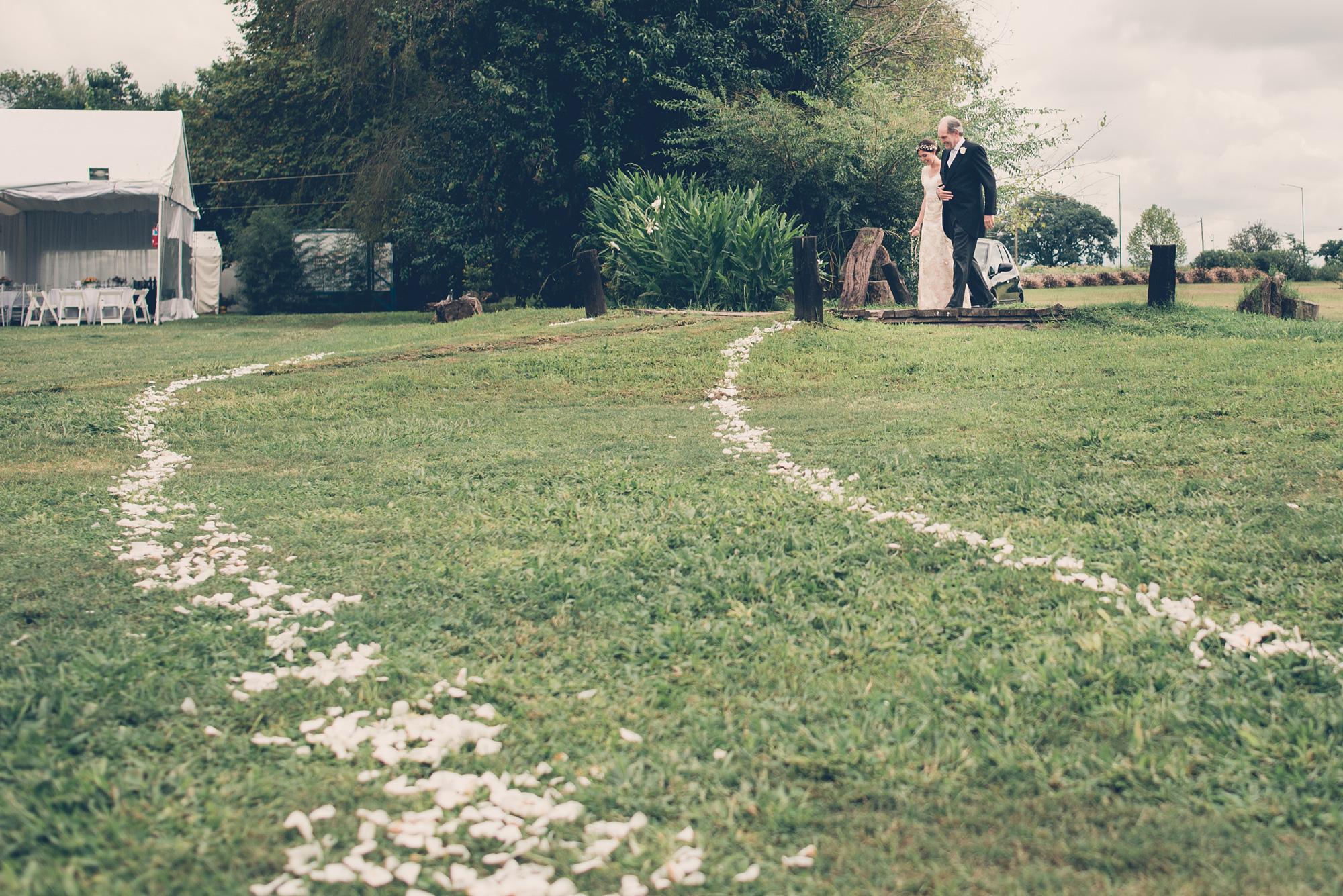 Una nueva tendencia natural llega a los casamientos