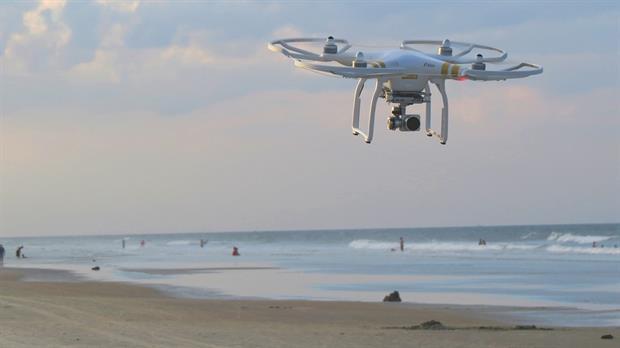 Drones para anticipar la marea roja
