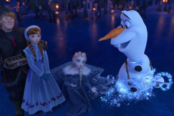 Disney lanzó el tráiler del nuevo corto de Frozen