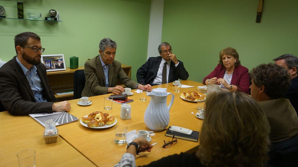 Nos visitaron las autoridades de la Universidad Católica de Chile