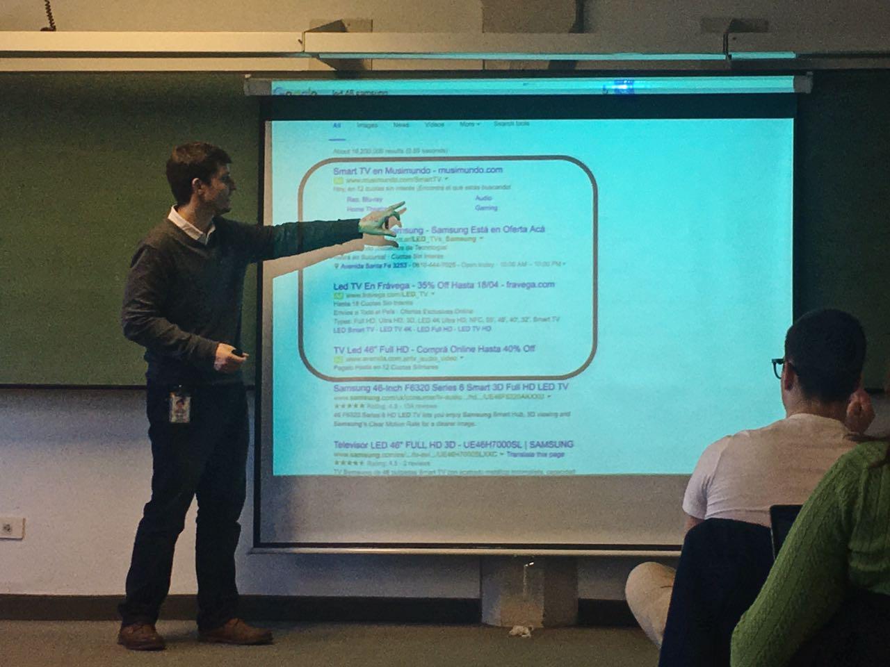 Curso de Google en la UCA